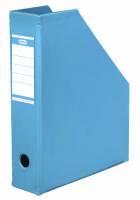 Tidsskriftskassette ELBA A4 maxi lys blå ryg:6,5cm