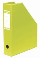 Tidsskriftskassette ELBA A4 maxi lime ryg:6,5cm