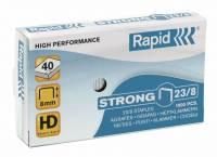 Hæfteklammer Rapid 23/8 Strong 1000stk/pak