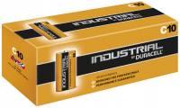 Batteri Duracell Industrial C 10stk/pak