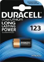 Batteri Duracell Ultra Photo 123 1stk/pak