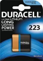 Batteri Duracell Ultra Photo 223 1stk/pak