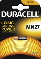 Batteri Duracell Security MN27 12V 1stk/pak