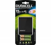 Batterilader Duracell 15 minutters oplader