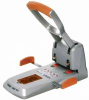 Hulapparat Rapid HDC 150/2 sølv/orange op til 150 ark