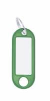 Nøglering m/vedhæng Wedo grøn