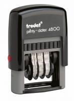 Datostempel Trodat 4800 sort 3x20mm dato