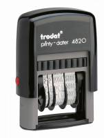 Datostempel Trodat 4820 sort 4mm dato
