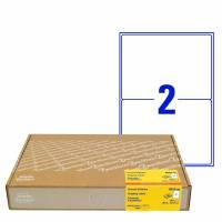 Shippingetiket Avery 199,6x143,5mm 2/ark 300ark/pak