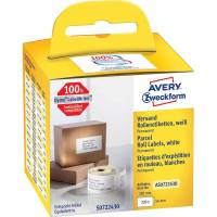 Shippingetiket Avery perm. 101x54mm 220stk/rul
