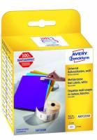 Universaletiket Avery perm. 19x51mm AS0722550