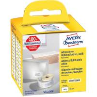 Universaletiket Avery perm. 89x36mm AS0722400