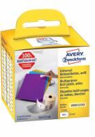Universaletiket Avery aftagl 57x32mm AS0722540