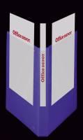 Hobbymappe OD blå 20mm A4 m/lomme 4-rings D-mekanisme
