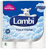 Toiletpapir Lambi 3-lags 21,25m 27651 36rul/kar