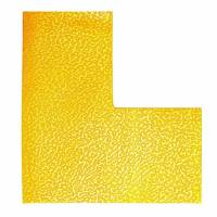 Gulvmarkering L form Duraline Strong 100x0,7x100mm 10stk/pak gul