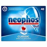 Maskinopvasketabs Neophos Powerball 40tabs