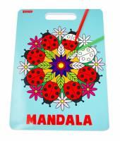 Malebog Sense Mandala 20x27,5cm 36 sider