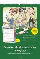 Familiekalender 30x42cm m/stickers 8079 00