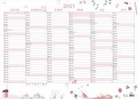 Vægkalender Annies 70x50cm 21 0635 00