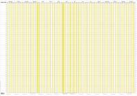 Whiteboard Projekt Planner PP rør 100x70cm 19 0653 00