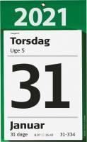 Kæmpeafrivningskalender m/bags. tekst 17x24cm 21 2540 00