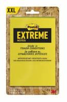 Post-it blok Extreme gul/grøn orange/grøn 114x127mm 2blk/pak