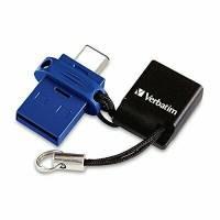 USB Verbatim Dual Drive 3.0 /USB-C 32GB Black