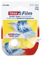 Tape tesa dobbeltklæbende klar 12mmx7,5m 57912
