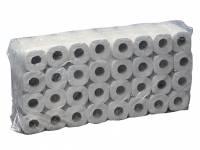 Toiletpapir Eurosoft 2-lags hvid 35m 14800 64rul/kar
