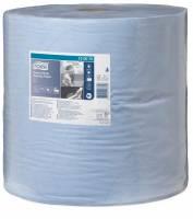 Aftørringspapir Tork kraftig W1 2-lags blå 340m 130070 1rul