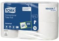 Toiletpapir Tork Universal T4 2-lags natur 472246 42rul/kar