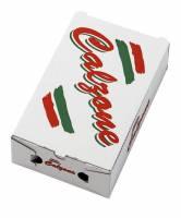 Pizzaæske 27x16½x7½cm calzone neutralt tryk 100stk/pak