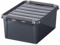 Plastkasse SmartStore Classic 15 grå 15l 40x30x19cm