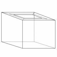 Containersvøb C13 2 Bølger 1180x780x700/90/110mm