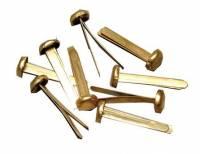 Paperbinders 25mm guldfarvet 100stk/pak
