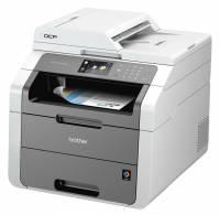Alt-i-én Brother DCP-9020CDW m/netkort, Wi-Fi, duplexprint