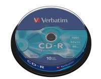 CD-R Verbatim 80min 700MB 52X 10stk/pak