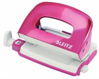 Hulapparat Leitz Mini WOW 2-huls 10ark pink