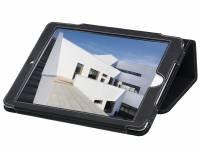 Cover iPad Air Pierre White læder sort