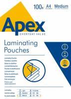 Lamineringslomme Apex A4 125mic 100stk/pak