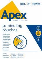 Lamineringslomme Apex A4 100mic 100stk/pak
