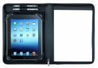 Dokumentmappe Eurostyle sort til tablets kunstlæder A4