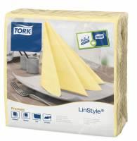 Serviet Tork Linstyle champagn 39x39cm 1/4 fold 50stk/pak