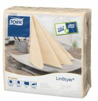 Serviet Tork Linstyle creme 39x39cm 1/4 fold 50stk/pak
