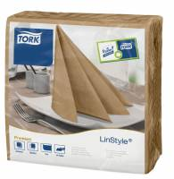 Serviet Tork Linstyle Biscuit 39x39cm 1/4 fold 50stk/pak