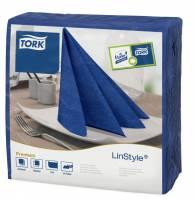 Serviet Tork Linstyle 39x39cm midtnight blue 50stk/pak