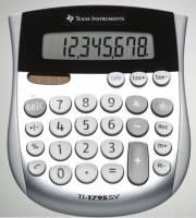 Lommeregner Texas TI 1795SV 8 cifret display-skråtstillet