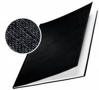 Skinneomslag Leitz karton 10,0mm sort 10stk/pak
