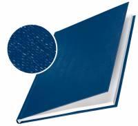 Skinneomslag Leitz tekstil 3,5mm blå 10stk/pak